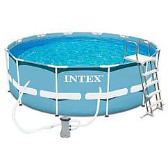 Каркасный бассейн круглый Intex 366х122 см  (28726)