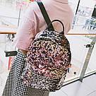 Рюкзак с пайетками меняющий цвет золотой Mojoyce (495\4), фото 10
