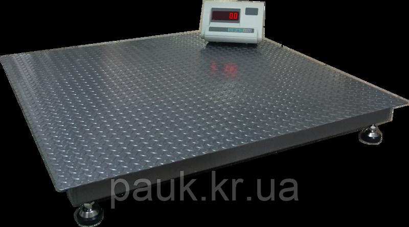 Ваги платформні ВПД-1215 PRO 3т, ваги з широкою платформою