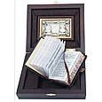 """Православний Молитвослов в шкіряній палітурці і подарунковій коробці """"Триптих"""", фото 4"""