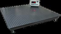 Ваги платформні з вбудованим акумулятором ВПД-1515 PRO 0,5 т, фото 1