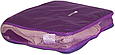 Набор органайзеров 5 шт. для вещей в чемодан для путешествий Фиолетовый, фото 4