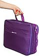 Набор органайзеров 5 шт. для вещей в чемодан для путешествий Фиолетовый, фото 6