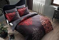 Двуспальное евро постельное белье TAC Rodion Сатин-Delux