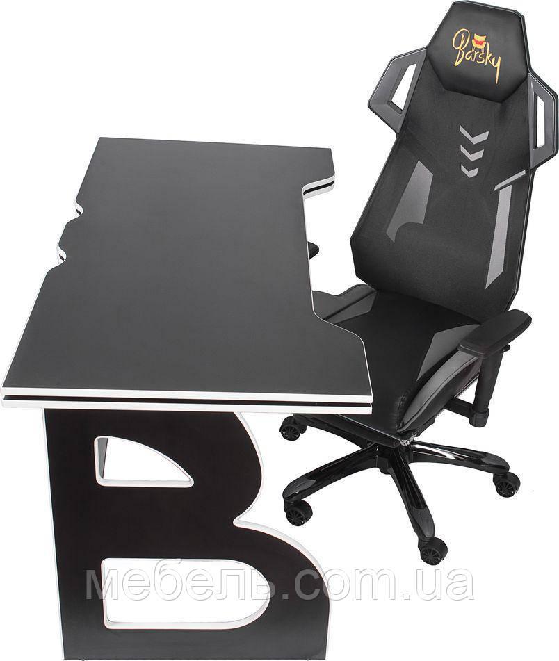 Рабочая станция Barsky Homework Game Black/White HG-06/BGM-04