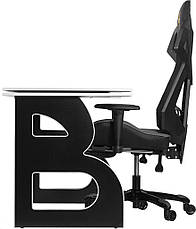 Рабочая станция Barsky Homework Game Black/White HG-06/BGM-04, фото 2