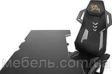 Рабочая станция Barsky Homework Game Black/White HG-06/BGM-04, фото 3