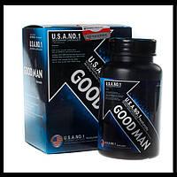 GOODMAN (Гудмен) – СУПЕР препарат для потенції і збільшення пеніса, 60 капсул., фото 1