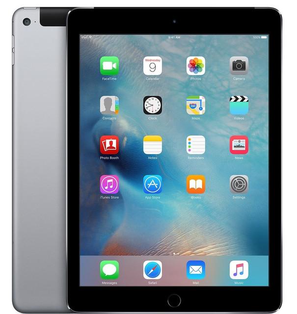 """IPad Air 2 (iPad 6), 9.7"""" (2015)"""