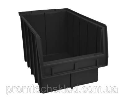 Ящик 700 для хранения метизов черный 350х210х200 мм