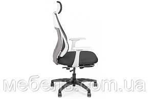 Геймерское креслоBarsky Team White/Grey Arm_w Step TWGw_step-01, фото 2