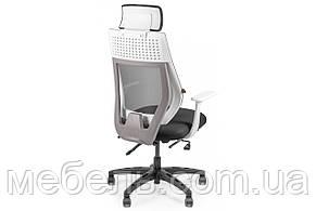 Офисное креслоBarsky Team White/Grey Arm_w Step TWGw_step-01, фото 3