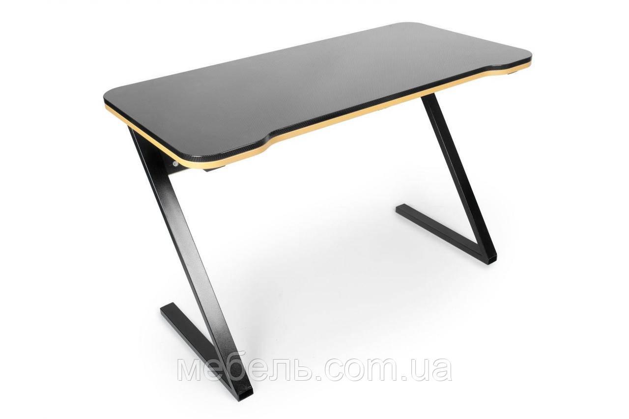 Геймерский компьютерный стол Barsky Z-Game Yellow 1200x600x750, ZG-06