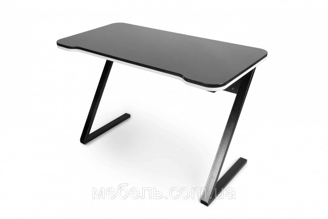 Геймерский компьютерный стол Barsky Z-Game White 1200x600x750, ZG-04