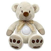 Проектор музыкальный Baby Mix Медведь Сream STK-13138