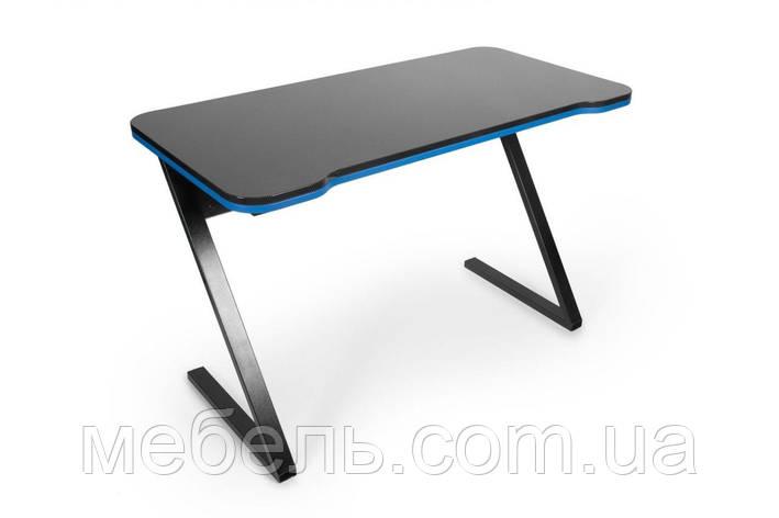 Геймерский компьютерный стол Barsky Z-Game Blue 1200x600x750, ZG-02, фото 2