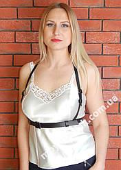 Женская портупея одинарная широкая/узкая арт.930744