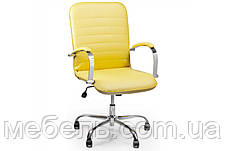 Геймерское кресло Barsky Vintage Yellow Chrome BVchr-06 , фото 2