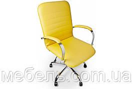 Кассовое кресло Barsky Vintage Yellow Chrome BVchr-06