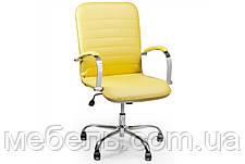 Кассовое кресло Barsky Vintage Yellow Chrome BVchr-06 , фото 2