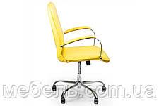 Кассовое кресло Barsky Vintage Yellow Chrome BVchr-06 , фото 3