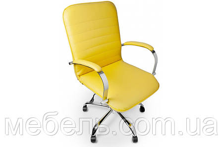 Кресло для врача Barsky Vintage Yellow Chrome BVchr-06 , фото 2