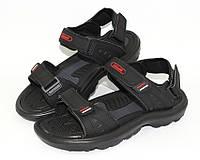 Мужские сандалии с застежкой на липучках и удобной подошвой