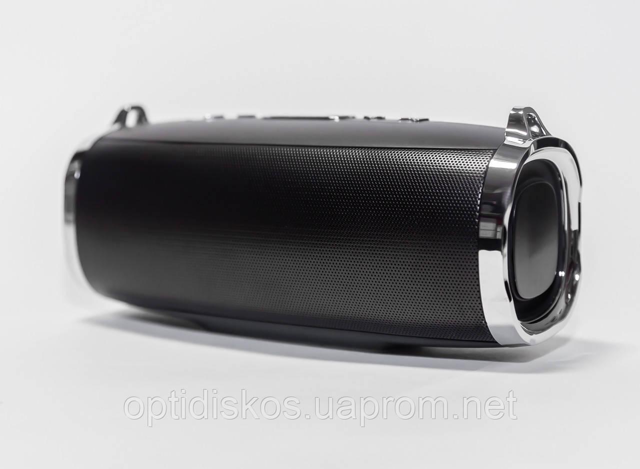 Bluetooth портативная колонка S-520 с тканевым ремешком, черная
