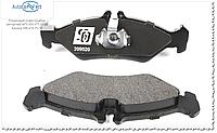 Колодки тормозные задние Mercedes Sprinter 208-316 / VW LT 2.5TDI 96- (с ушками меньшие) 209020