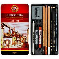 Набор художественный Gioconda Koh-i-noor 10 предметовметуп 8890