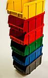Ящик складской 700 для хранения метизов красный, фото 2