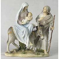 Коллекционная статуэтка Veronese Семья Иисуса идет в Египет WU74108AB