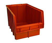 Ящик складской 700 для хранения метизов оранжевый