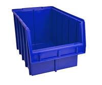 Ящик складской 700 для хранения метизов синий