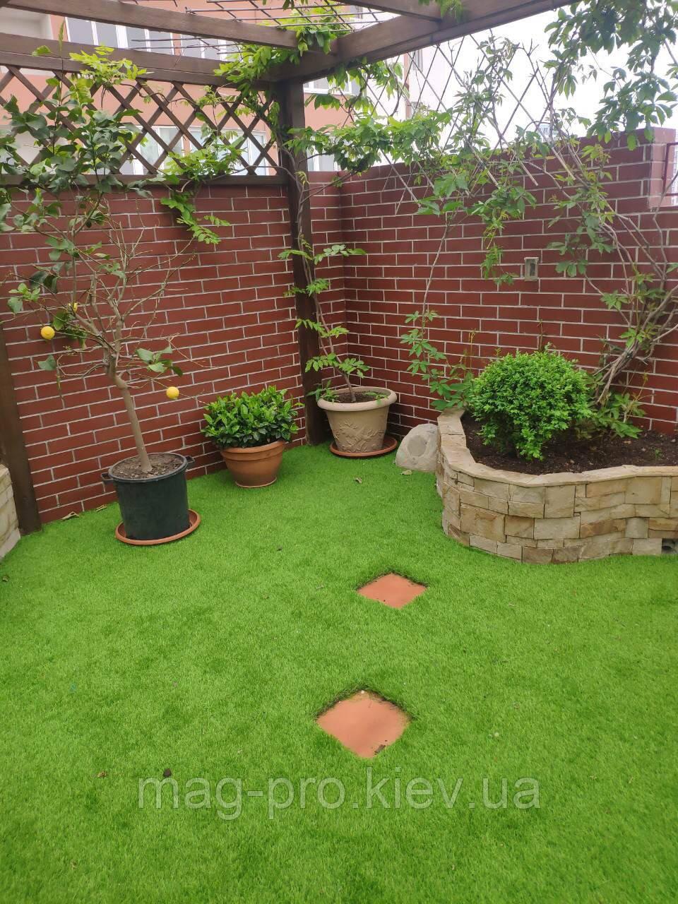 Декоративная искусственная трава PV 40мм.