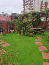 Декоративная искусственная трава PV 40мм., фото 2