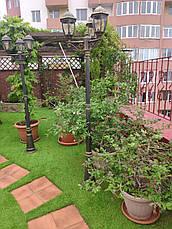 Декоративная искусственная трава PV 40мм., фото 3