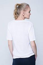 SEWEL Джемпер JS413 (46-48, ярко-белый, 50% хлопок/ 50% акрил), фото 2