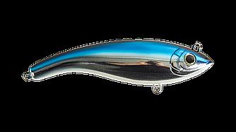 Джерк Бейт Strike Pro Ghost Buster тонущий 14см  70гр- Blue Chrome