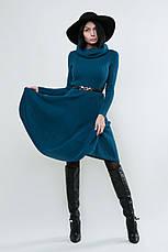 SEWEL Платье PW096 (44-46, морская волна, 60% акрил/ 30% шерсть/ 10% эластан), фото 3