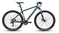 "Велосипед 29'' PRIDE XC-29 PRO 1.0 рама - 21"" черно-синий матовый 2015"
