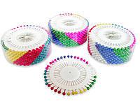 Булавки портновские с шариком, швейные булавки