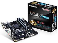 Материнская плата Gigabyte GA-78LMT-USB3 AMD 760G, AM3+, mATX