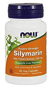 Здоровье печени Now Foods - Silymarin 300 мг (50 капсул)