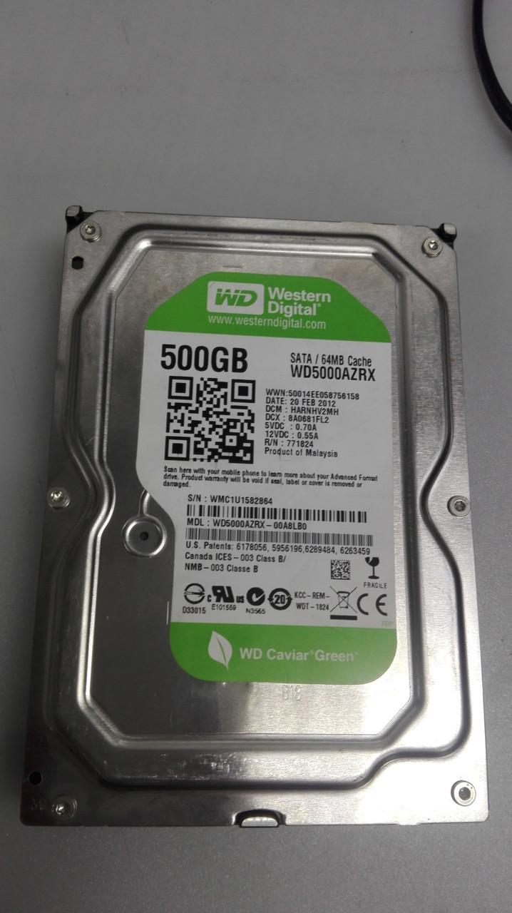Жесткий диск для компьютера 500gb WD SATA 3,5