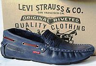 Новинка от Levis мокасины! Натуральная кожа Левис летние туфли в стиле Levi Strauss 90-03