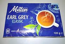 Чай Milton Earl Grey classic с бергамотом 80 пакетиков. Польша
