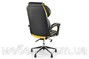 Компьютерное детское кресло Barsky Sportdrive Yellow Arm_pad Anyfix Alum BSDany_alu-06, фото 3