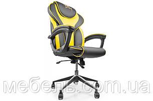 Кассовое кресло Barsky Sportdrive Yellow Arm_pad Anyfix Alum BSDany_alu-06, фото 2