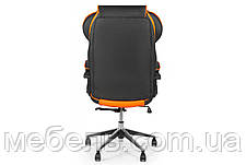 Кресло для домашенего кабинета Barsky Sportdrive Orange  Arm_pad Anyfix Alum BSDany_alu-05, фото 3